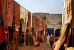 Rue colorée de Casablanca