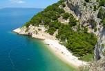 Plage de la côte adriatique