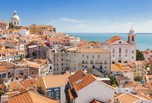 #50939880 - Panoramic of Alfama rooftops, Lisboa, Portugal