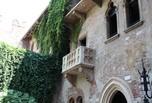 Le balcon de la maison de Juliette