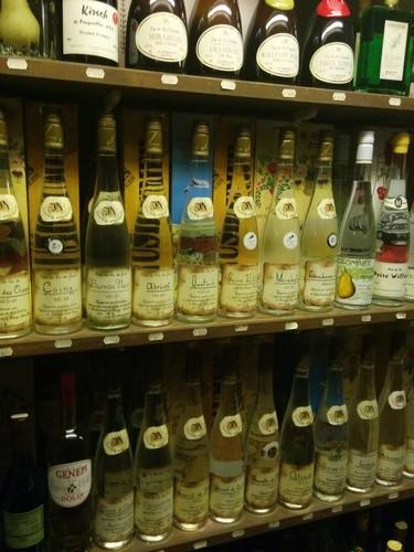 Les liqueurs de fruits artisanales de nos régions