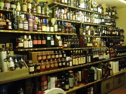 Whisky, bourbons, apéritifs
